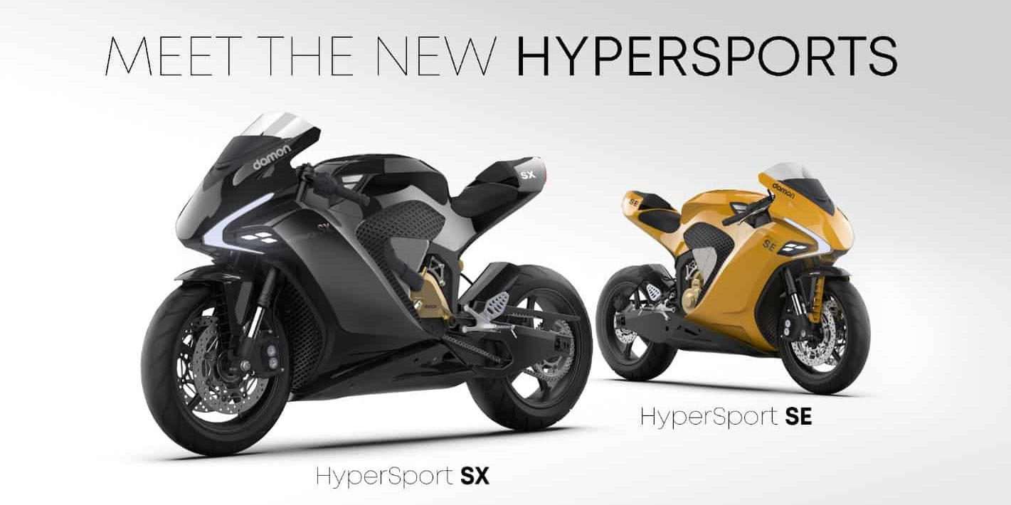 New Damon Hypersport SX and SE
